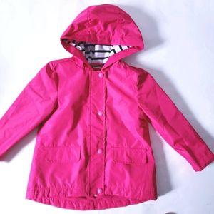2T Hot Pink Raincoat Lightly Lined